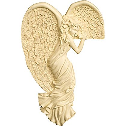 Angel Watching Left Corner Home Decoration 8 Inch Door Frame Picture Mirror 8010