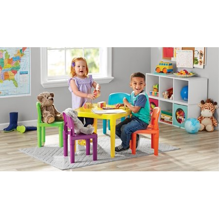 Juvenile 5pc Plastic Table Set