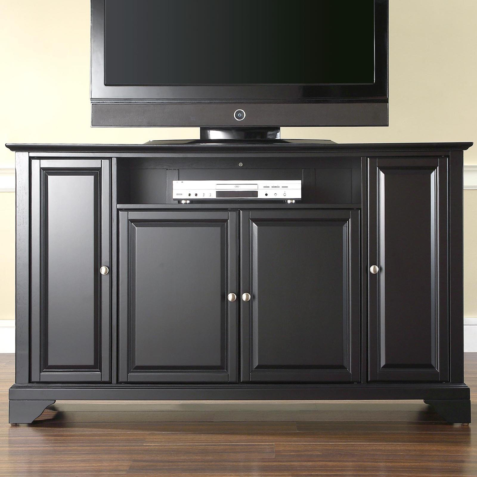 "LaFayette 60"" TV Stand in Black Finish"