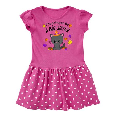 I'm Going to be a Big Sister- cute Halloween cat Infant (Cat's Pajamas Costume)