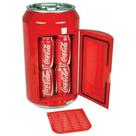 Coca Cola 8 Can Ac Dc Electric Mini Cooler Mini Fridge By