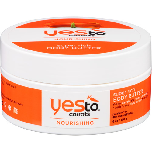 Yes to Carrots Nourishing Super Rich Body Butter, 6 oz