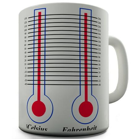 Celsius   Fahrenheit Ceramic Mug