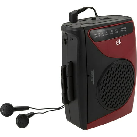 GPX Cassette Player with AM/FM Radio ()