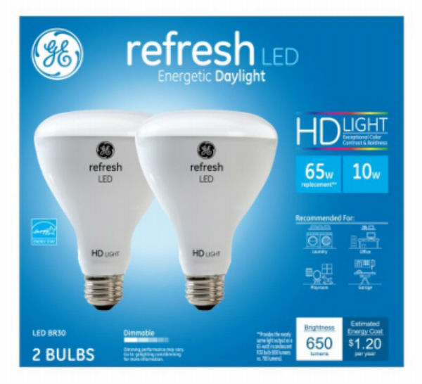 G E Lighting 4 Packs GE10W R30 Refr LED Bulb
