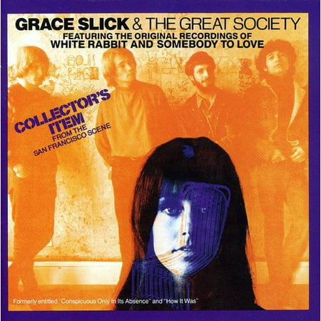Grace Slick and The Great Society (CD)