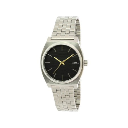 Nixon Women's Time Teller A0452730 Black Stainless-Steel Japanese Quartz Dress Watch ()
