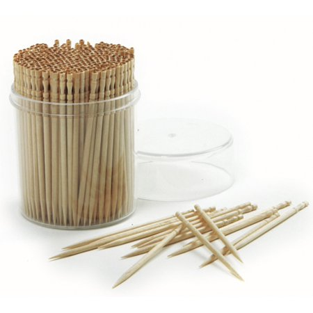 Norpro Ornate Wood Toothpicks - Long Toothpicks