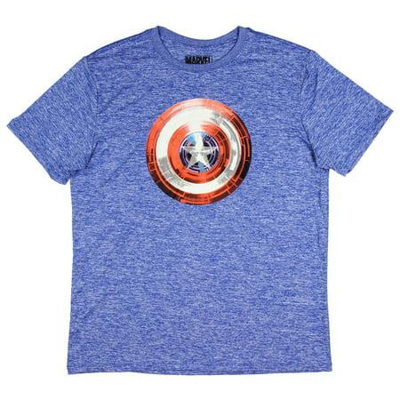 Mens' Captain America Shield Winter Soldier T-Shirt