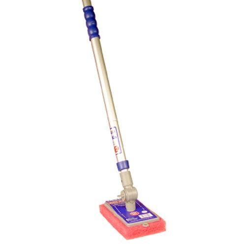 Adjust-A-Brush PROD260 Scrubber with Telescopic Pole