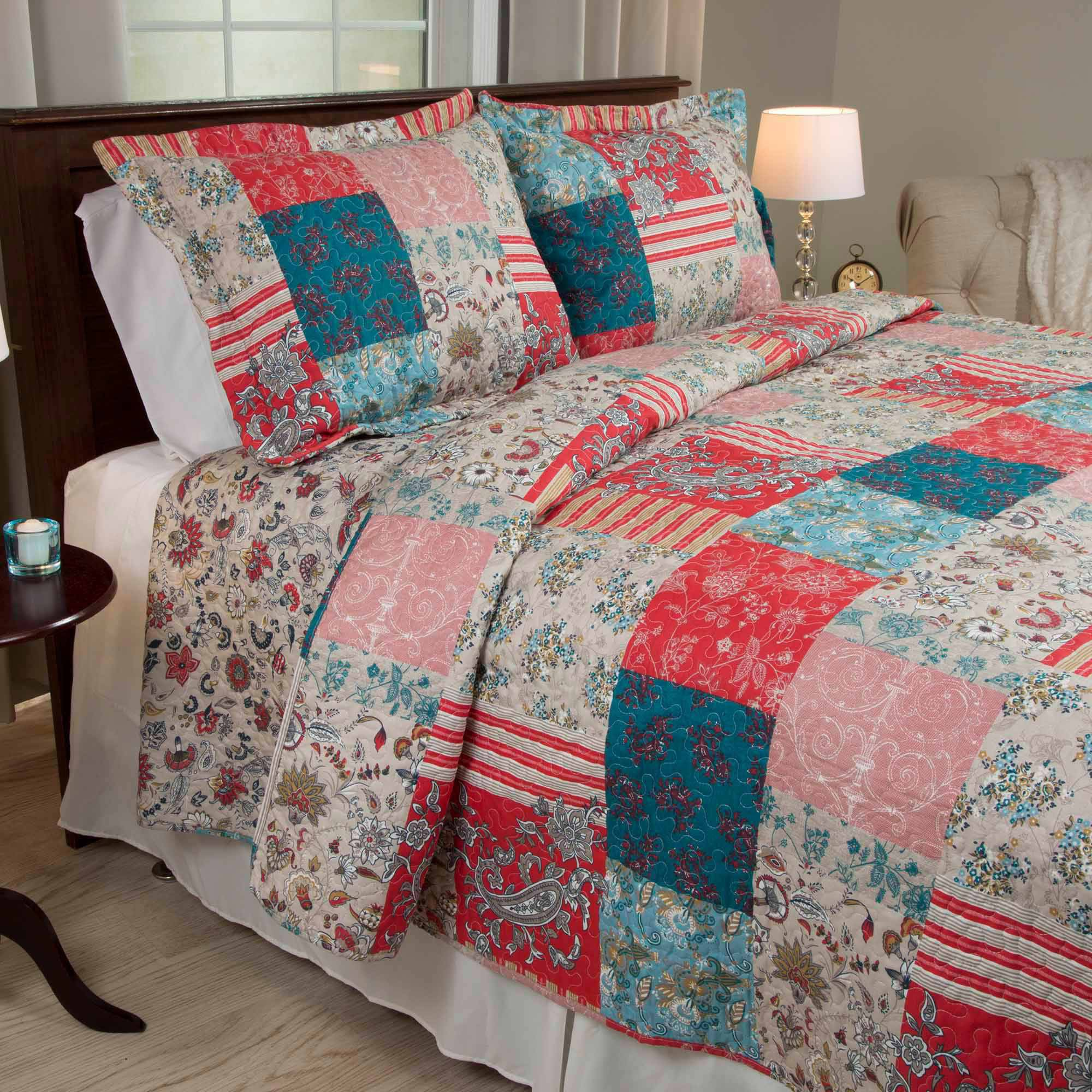Somerset Home Mallory Quilt Set by Trademark Global LLC