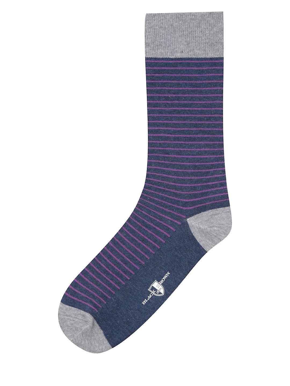 Contrast Stripe Socks