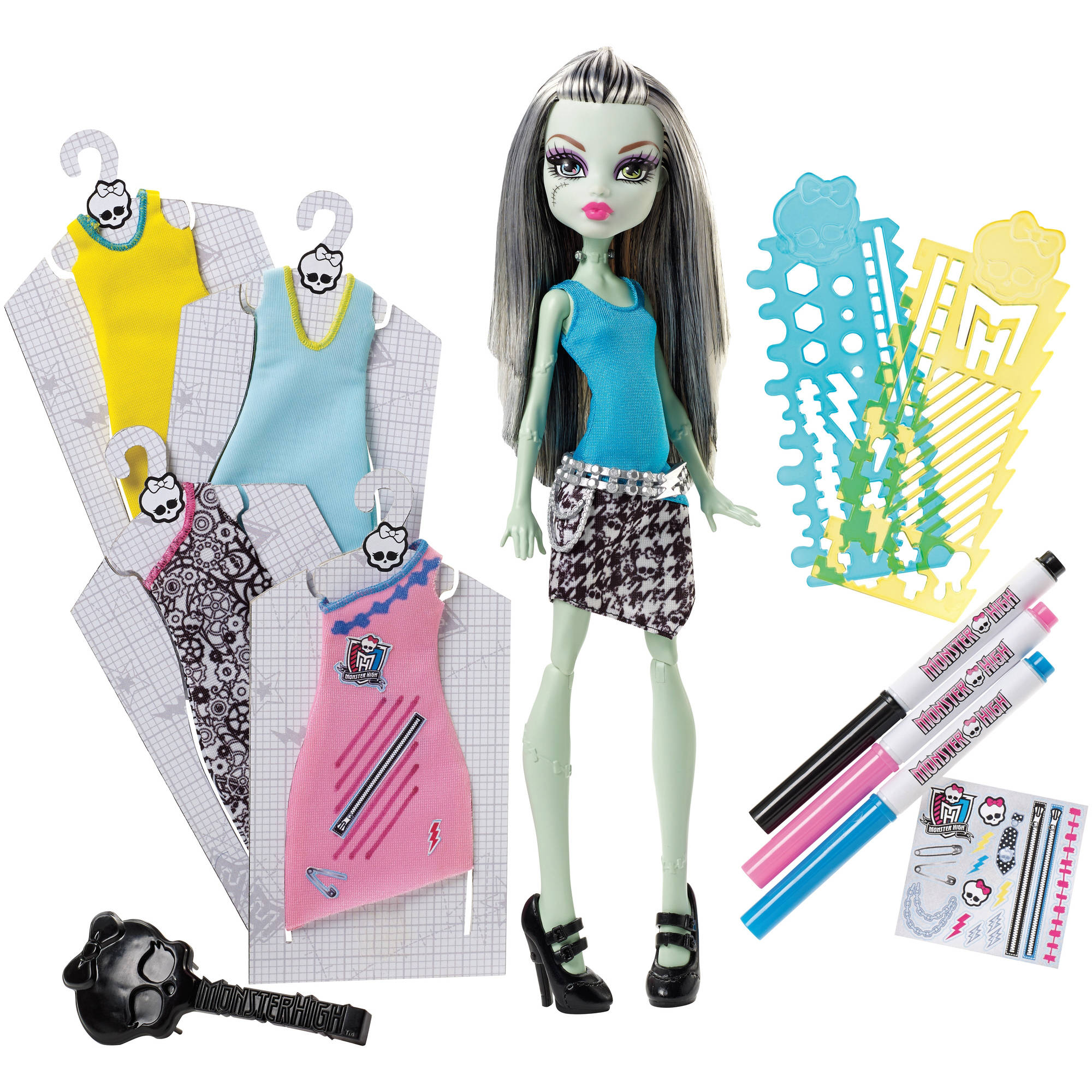Monster High Designer Booo-Tique Frankie Stein Doll and Fashions by Mattel