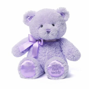 Gund My First Teddy Bear Baby Stuffed Animal, 10 inches (Discontinued by Manu... by Gund