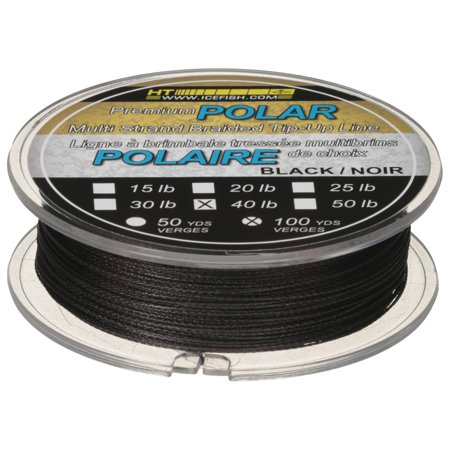 Ht Enterprises Polar Ice (HT POLAR ICE 40 LB 100 YARDS BRAIDED ICE FISHING LINE)