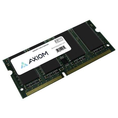 Non Ecc Pc133 Sdram (Axion ZMD256-AX Axiom ZMD256-AX 256MB SDRAM Memory Module - 256 MB (1 x 256 MB) - SDRAM - 133 MHz PC133 - Non-ECC - Unbuffered - 144-pin - SoDIMM )