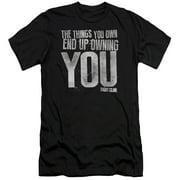 Fight Club - Owning You - Slim Fit Short Sleeve Shirt - Medium