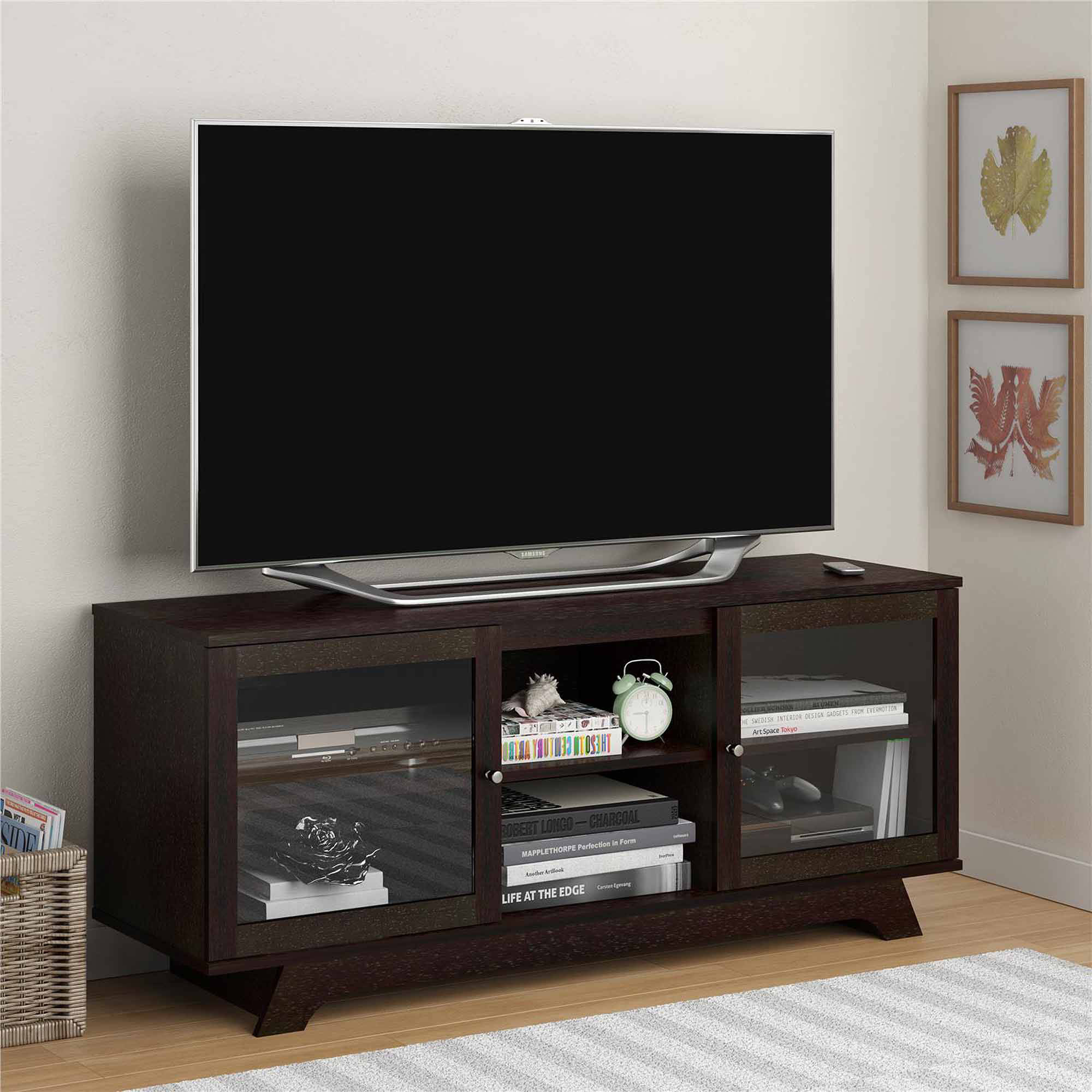 "Altra Transitional TV Stand for TVs up to 55"", Multiple Colors"