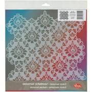 """Viva Decor Large Background Stencil 11.4""""x11.4""""-ornament"""