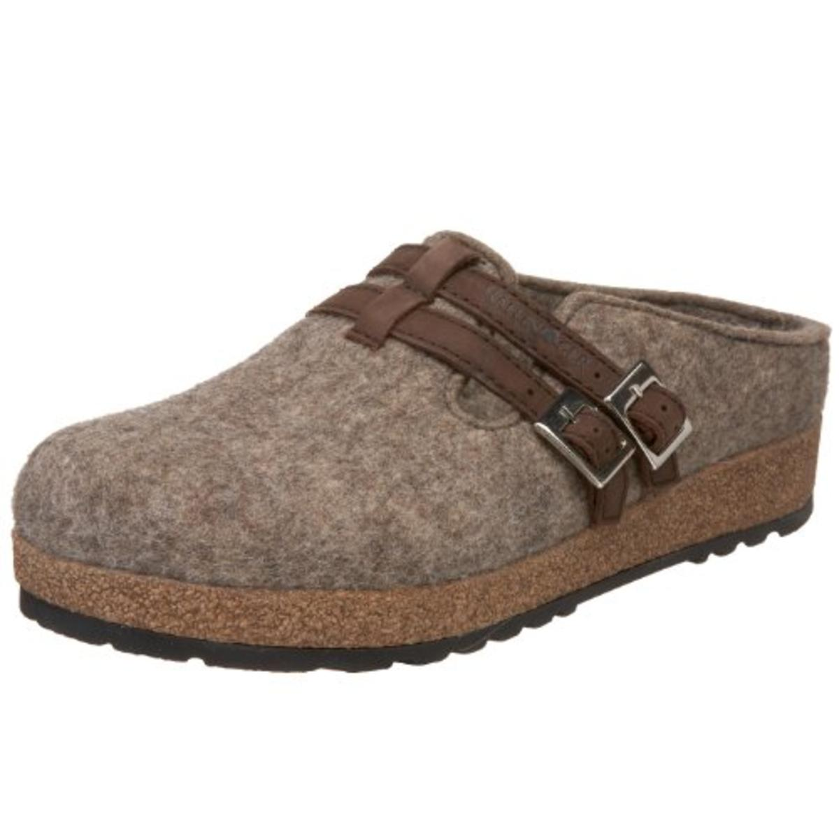 Haflinger Womens Wool Casual Clogs by Haflinger