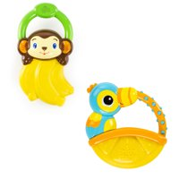 Bright Starts Vibrating Teether - Berry