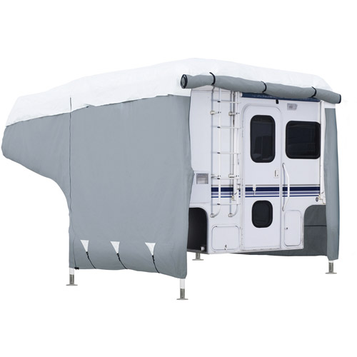 Classic Accessories PolyPRO 3 RV Deluxe Camper Cover, Fits 8' - 10' Campers