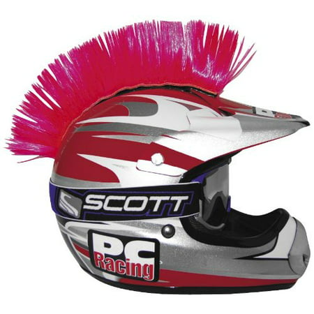 Racing Helmet Bag (Helmet Mohawk , Color: Pink PCHMPINK, Gives your helmet some attitude By PC)