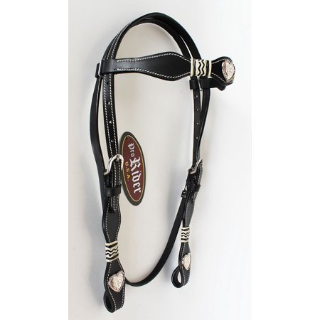 - Horse Saddle Tack Bridle Western Leather Headstall  7857HB
