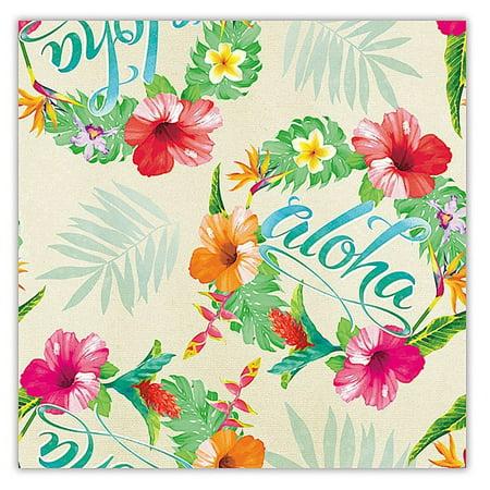 Aloha Floral Hawaiian Continuous Gift Wrap Paper 2 (Island Wrap)