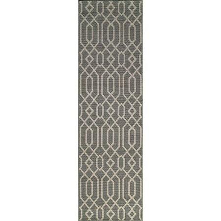 """Momeni Baja 7'10"""" X 10'10"""" Rug in Gray - image 1 de 3"""