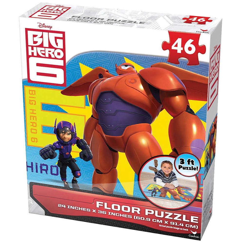 Big Hero Six 46 Piece Floor Puzzle
