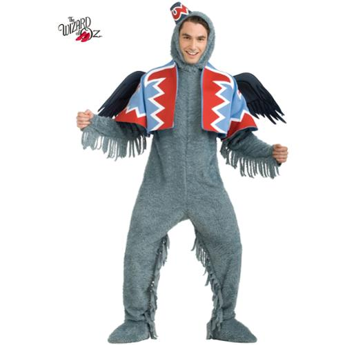 Adult Deluxe Winged Monkey Costume - Size STD