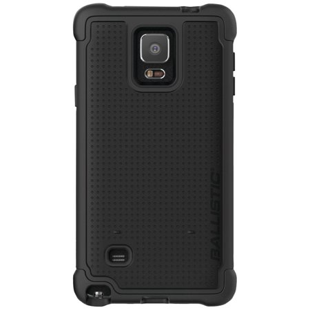 Ballistic Tough Jacket Case for Samsung Galaxy Note 4 (Black) -