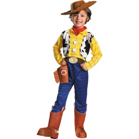 Morris costumes DG5234K Toy Story Woody Dlx Ch 7 To 8 (Toy Story Woody Toddler Costume)