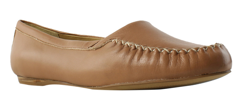 Trotters Womens TanSoftNappaLeather Ballerinas Flats Size 9.5 New by Trotters