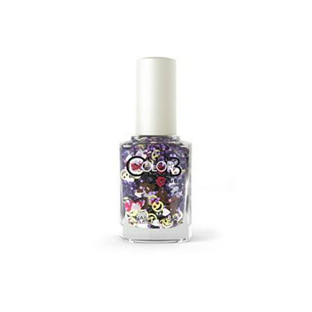 Color Club Nail Lacquer Nailmoji, Holographic Glitter Lol, 0.5 Fluid Ounce - image 1 de 1