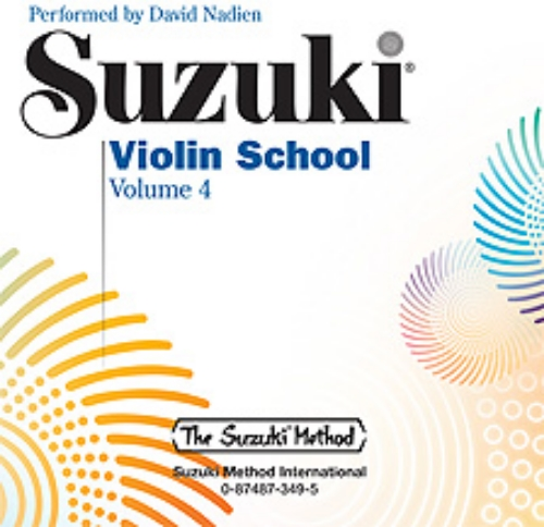 Suzuki Violin School CD 4, 0349