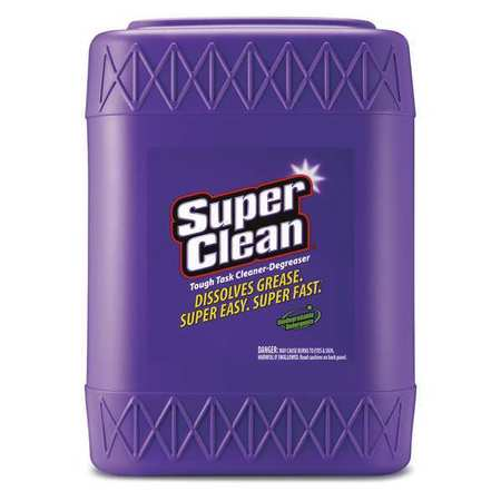 SUPERCLEAN 100725 Cleaner-Degreaser, Multi-Purpose, 5 Gal