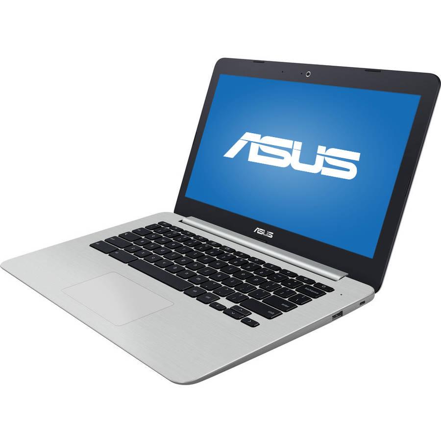 "ASUS C301SA 13.3"" Chromebook, Chrome OS, Intel Quad-Core Celeron N3160, 4GB EAM, 64GB eMMC"