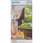 Martha Stewart  Large Ferns/ Boughs Stencils with 17 Designs (3 Sheets/ Pack)