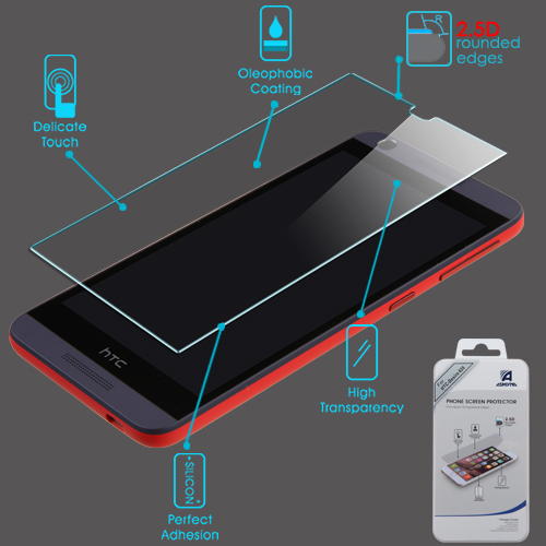For Desire 626S 626 Shatterproof Tempered Glass Screen Protector