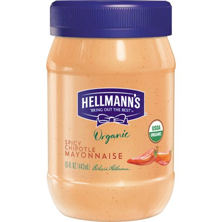 Hellmann's Organic Chipotle Mayonnaise, 15 oz - Walmart.com