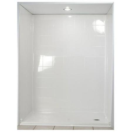Ella Walk In Baths Standard Four Panel Shower Wall