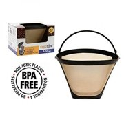 GoldTone Reusable #4 Cone Replacment Cuisinart Coffee Filter - Permanent Cuisinart Coffee Filter for Cuisinart Machines and Brewers