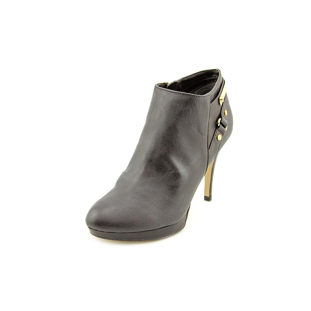 Marc Fisher Blaine 3   Round Toe Synthetic  Bootie