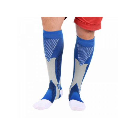 VICOODA Outdoor Sports Compression Socks Men's And Women's Legs Support Elastic Outdoor Sports Socks Knee High Compression Unisex Socks Running Ski Long Socks 1 Pair