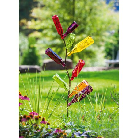 - Evergreen Enterprises, Inc Metal Bottle Tree Garden Stake
