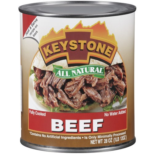 Keystone All Natural Beef, 28 Oz