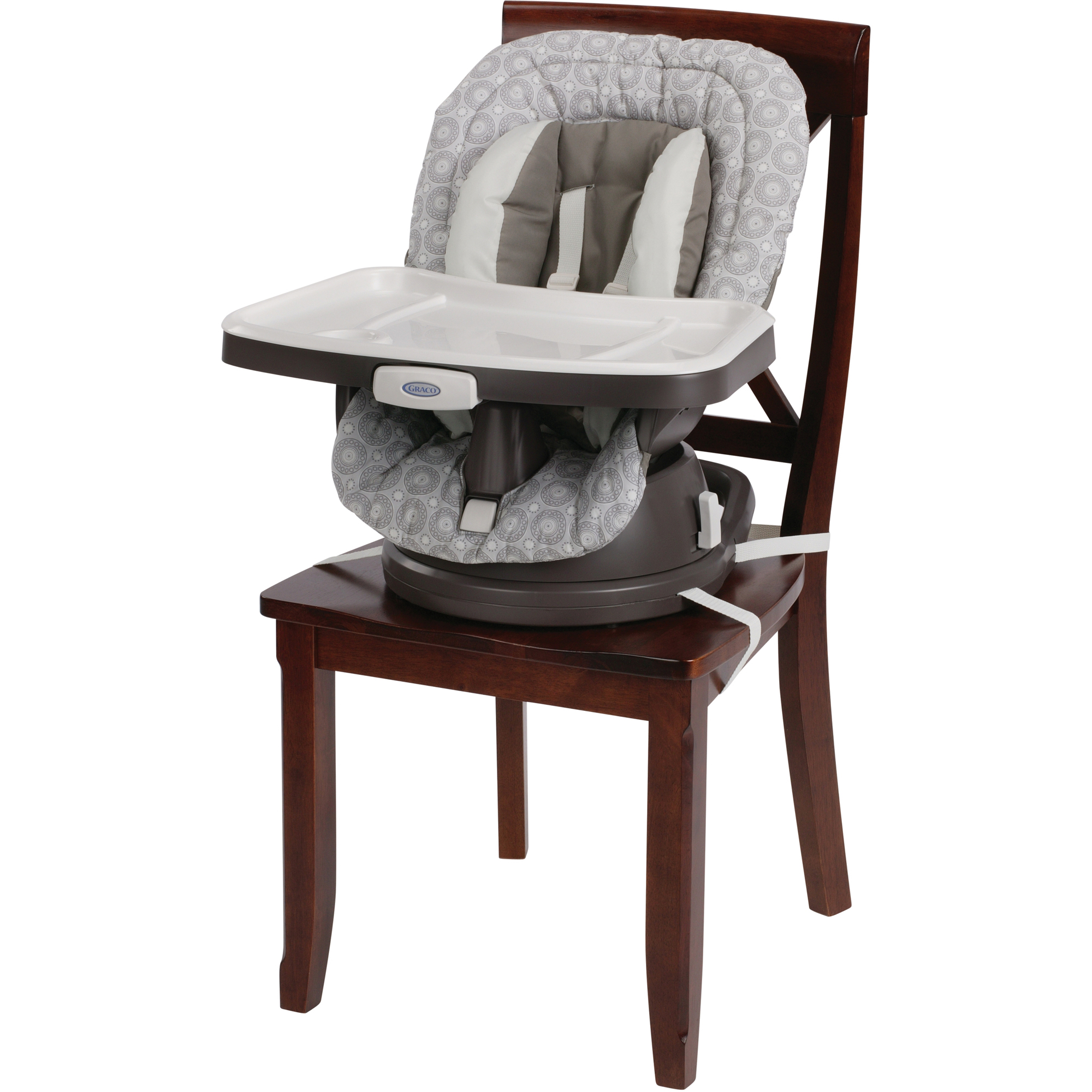 Gentil Graco SwiviSeat 3 In 1 High Chair Booster Seat, Abbington   Walmart.com