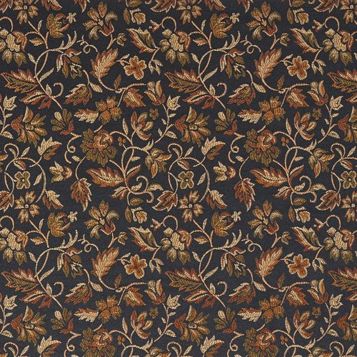 Wildon Home  Brocade Floral Fabric